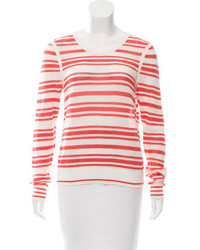 Rag & Bone Striped Open Knit Top