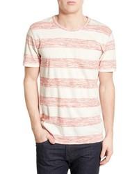 1901 Elwah Trim Fit Heathered Stripe Crewneck T Shirt