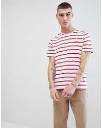 Another Influence Fitted Stretch Curved Hem T Shirt
