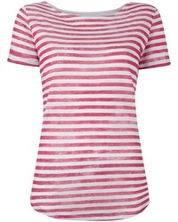 Majestic Filatures Shortsleeved Striped T Shirt