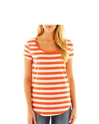 MNG by Mango Striped Tee