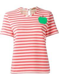 Peter Jensen Apple Striped T Shirt