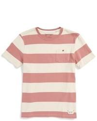 Tailor Vintage Rugby Stripe Crewneck T Shirt