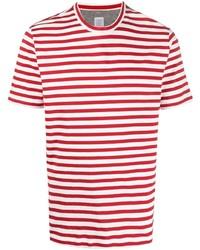 Eleventy Striped Cotton T Shirt
