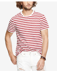 Denim & Supply Ralph Lauren Striped Crew Neck T Shirt