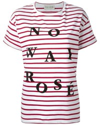 Tre Ccile No Way Ros Print Striped T Shirt
