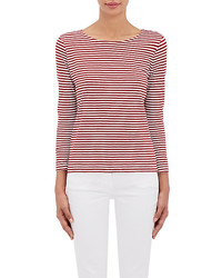 Barneys New York Xo Jennifer Meyer Striped Long Sleeve T Shirt