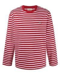 MAISON KITSUNÉ Striped T Shirt