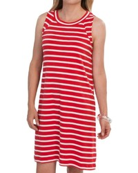 Cotton stripe dress sleeveless medium 456558