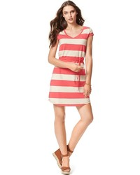 Tommy hilfiger rubgy stripe knit dress medium 456559