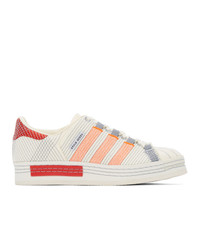 Craig Green Off White And Grey Adidas Edition Sneakers