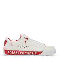 Mastermind World White And Red Gravis Edition Tarmac Mmj Sneakers