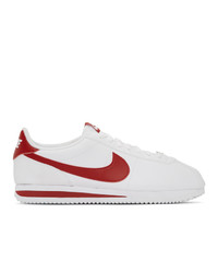 Nike White Cortez Basic Sneakers