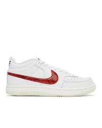 Nike White Sky Force 34 Sneakers