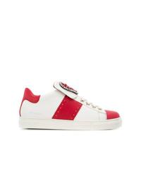 Twin-Set Embellished Heart Sneakers