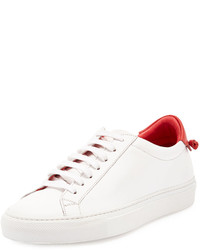 Givenchy Calfskin Low Top Sneaker Whitered