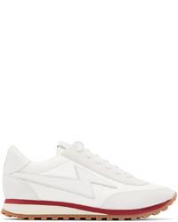 Marc Jacobs White Astor Lightning Bolt Sneakers