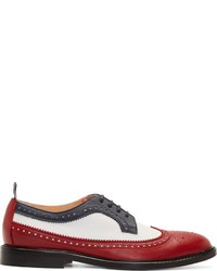 White and red oxford shoes original 8534709