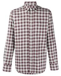 Canali Button Down Cotton Shirt
