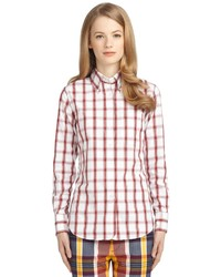 Brooks Brothers Large Check Button Down Shirt