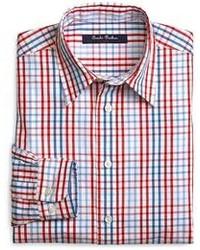 Brooks Brothers Plaid Sport Shirt