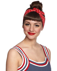 Ana Accessories Inc Through The Wire Headband In Red