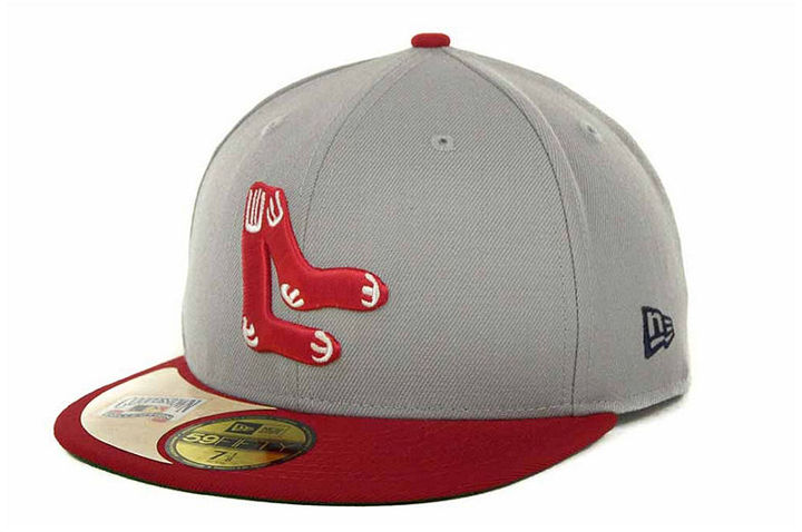 ... New Era Boston Red Sox Cooperstown Patch 59fifty Cap ... aa564d889210