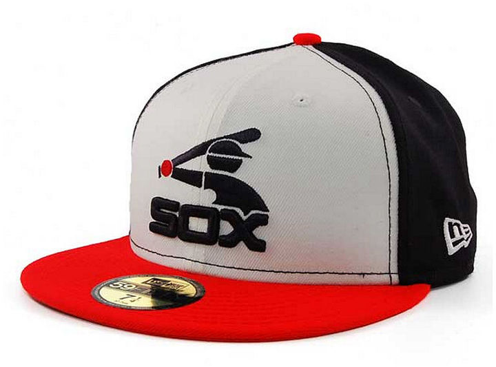 ... New Era Chicago White Sox Cooperstown 59fifty Cap ... baef7fbecc