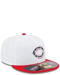 5c2de176396ea6 ... New Era Cincinnati Reds Mlb 2013 July 4th Stars Stripes 59fifty Cap ...