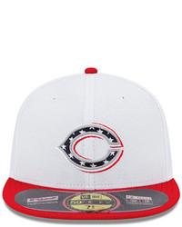 1c0bb18a715c6a ... New Era Cincinnati Reds Mlb 2013 July 4th Stars Stripes 59fifty Cap