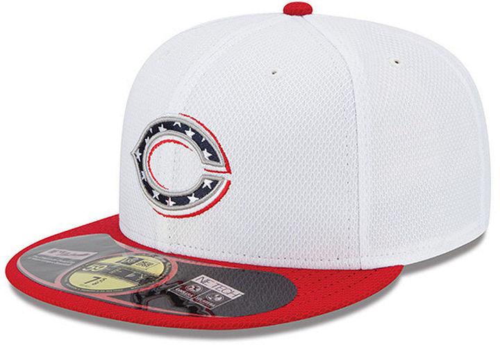 c515b0324ce81 ... New Era Cincinnati Reds Mlb 2013 July 4th Stars Stripes 59fifty Cap ...