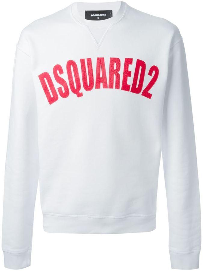Dsquared2 Logo Sweaters Sweatshirt Neck Crew nq01xfw7w