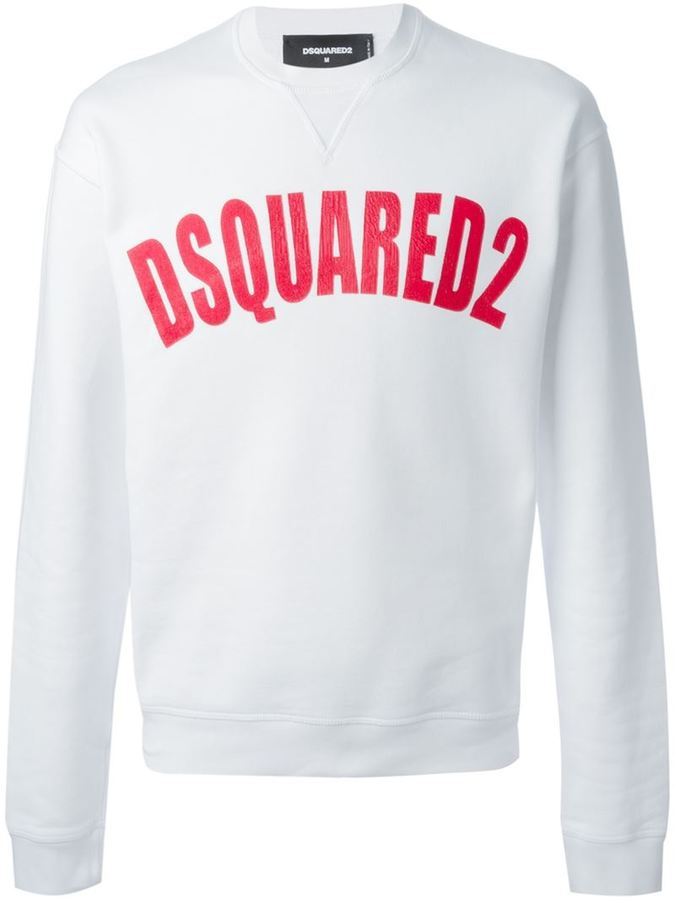 DSQUARED2 Logo Sweatshirt   Where to buy   how to wear 3cdf4982992