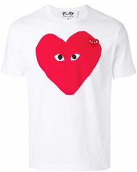 Comme des Garcons Comme Des Garons Play Heart Logo T Shirt
