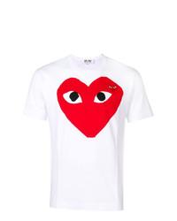 Comme Des Garcons Play Comme Des Garons Play Heart T Shirt