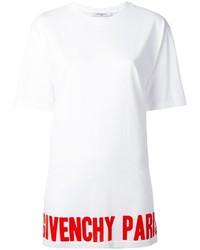 Givenchy Logo Print T Shirt