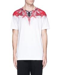 Marcelo Burlon County of Milan Marcelo Burlon Worr Print T Shirt