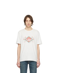 Saint Laurent Off White Jardin Majorelle T Shirt