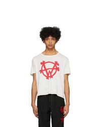 Worstok Off White Logo Rocker T Shirt
