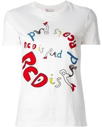 RED Valentino Red Is Rad Print T Shirt