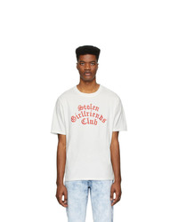 Stolen Girlfriends Club White Arch Gothic Classic T Shirt