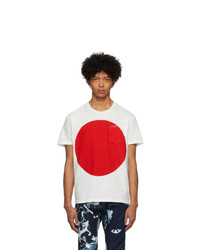 Blue Blue Japan White Big Circle T Shirt