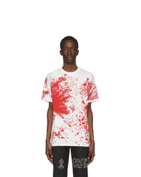 Sankuanz White Blood T Shirt