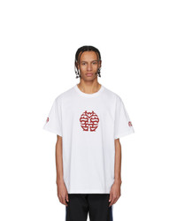 Vetements White Double Happiness T Shirt