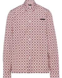 Prada Arabesque Print Shirt