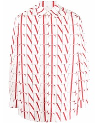 Valentino Vltn Logo Print Shirt
