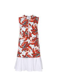 Dondup Printed Flared Dress