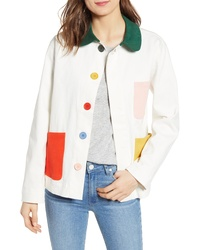 BAN.DO Ban Do Color Pop Work Jacket