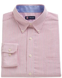 Chaps Classic Fit Striped Oxford Dress Shirt