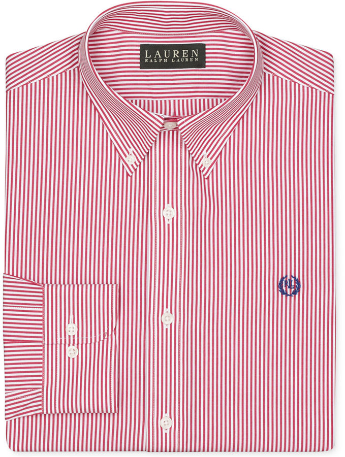 7caf9af369d ... Lauren Ralph Lauren Non Iron Slim Fit Stripe Dress Shirt